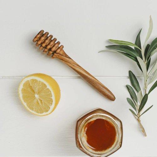 Naturally Med Cucharón Honey Olive Wood 010