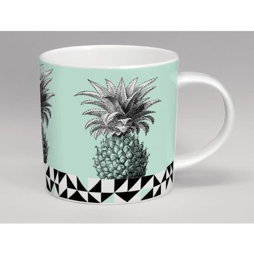 Repeat Repeat Hothouse Pineapple Mint Mug
