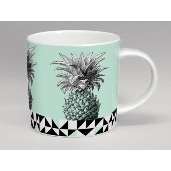 Hothouse Pineapple Mint Mug