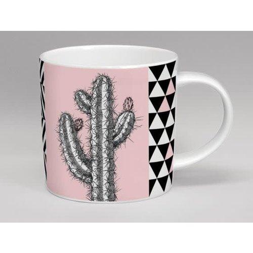 Repeat Repeat Hothouse Tall Cactus Pink Mug 44