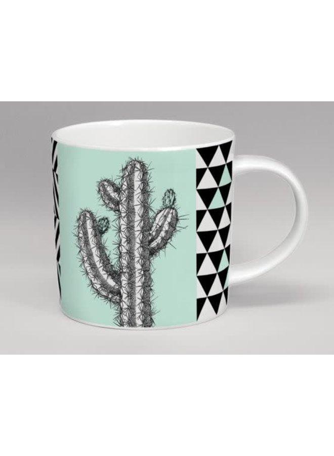 Hothouse Tall Cactus Mint Mug