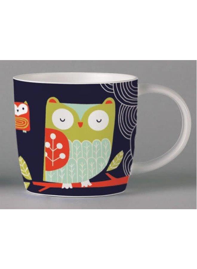 Folkland Barn Owl Dark Grey