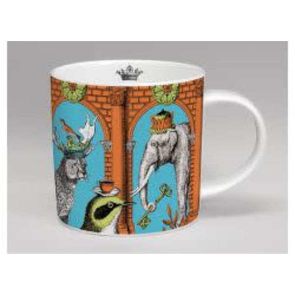 menagerie mug elefante naranja