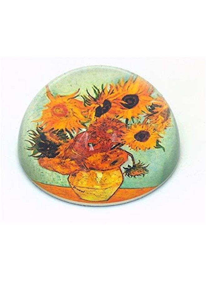 Van Gogh Sunflowers Paperweight