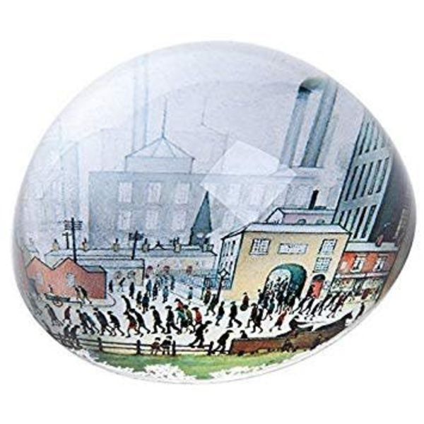 Lowry Coming from the Mill Paperweight