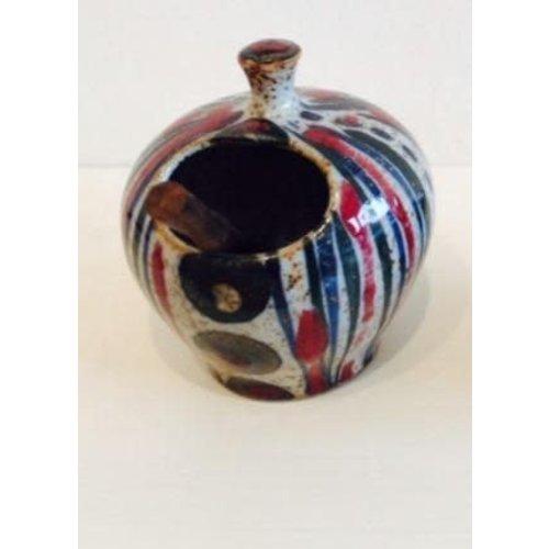 Selborne Pottery Salt Pot
