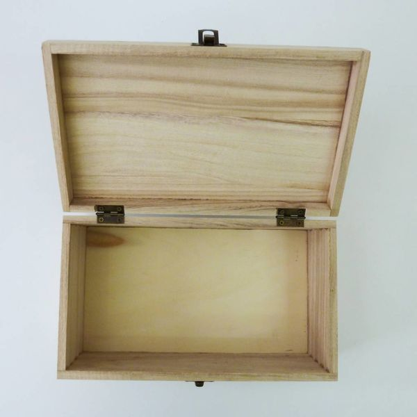 Map Rectangle Birch box Todmorden 24 x 14 x 8 cm