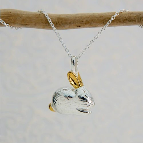 Reeves and Reeves Benjamin Bunny silver Necklace