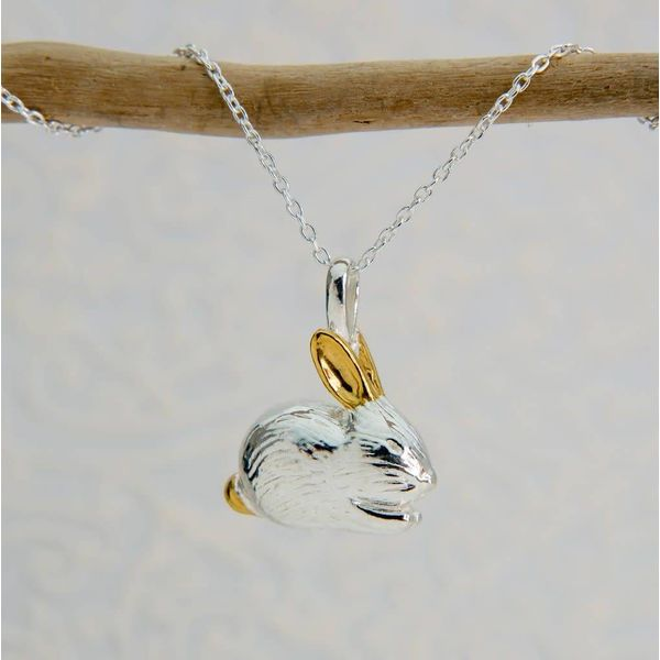 Benjamin Bunny silver Necklace