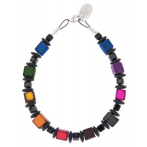 Carrie Elspeth Regenbogen Allsorts Armband