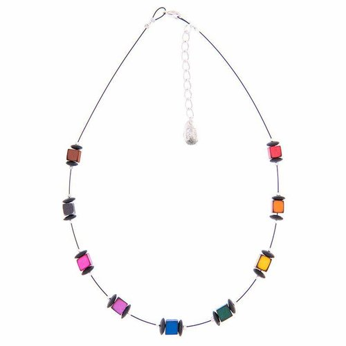 Carrie Elspeth Rainbow Links Necklace