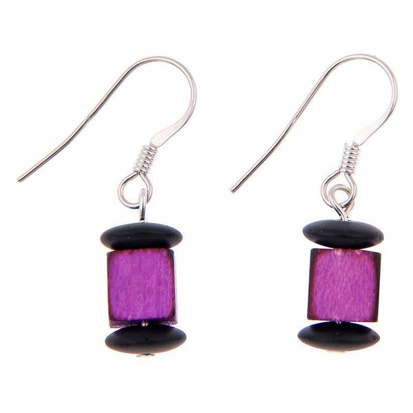 Purple Allsorts Earrings