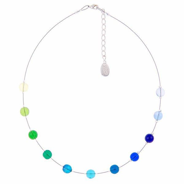 Necklace Cool Galaxy - Blues / Greens