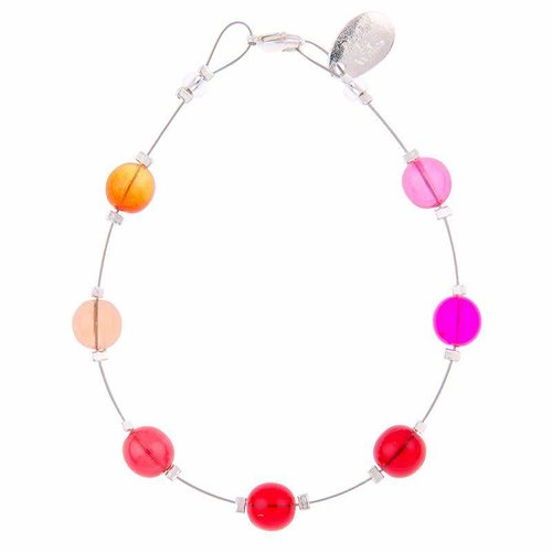 Carrie Elspeth Armband Warm Galaxy - Rot / Rosa