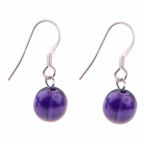 Earrings Galaxy Purple 0.1
