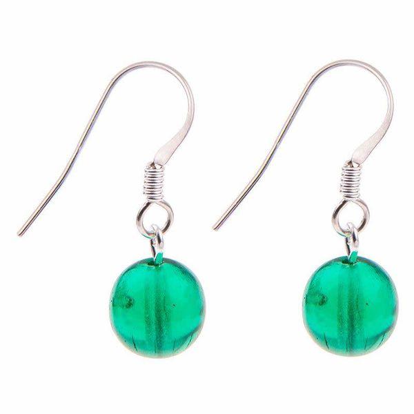 Earrings Galaxy - Green
