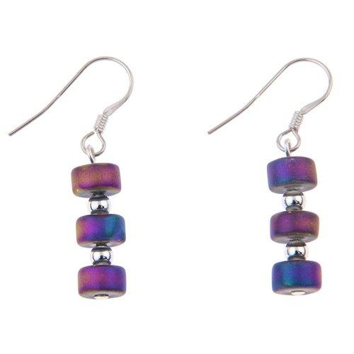 Carrie Elspeth Earrings Infinity - Rainbow