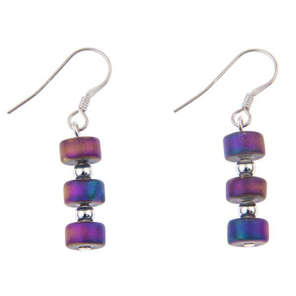 Earrings Infinity - Rainbow
