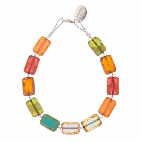 Carrie Elspeth Armband Picasso - Regenbogen / Herbst