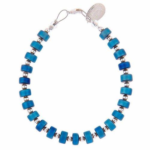Carrie Elspeth Armband Infinity - Blau