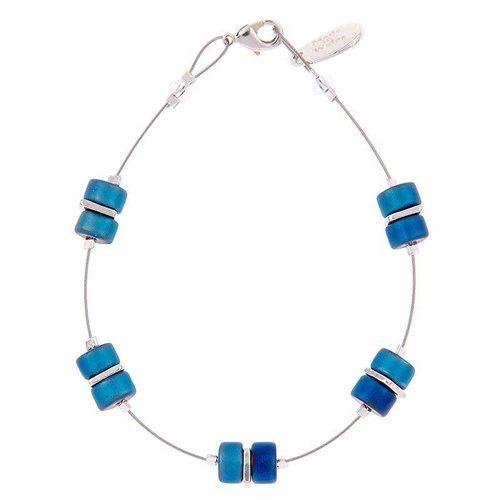 Carrie Elspeth Bracelet Spaced - Blue