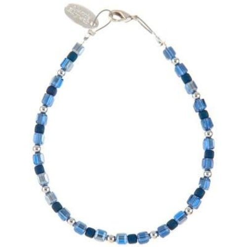 Carrie Elspeth Collar Glamour - Ocean Blues / Silver