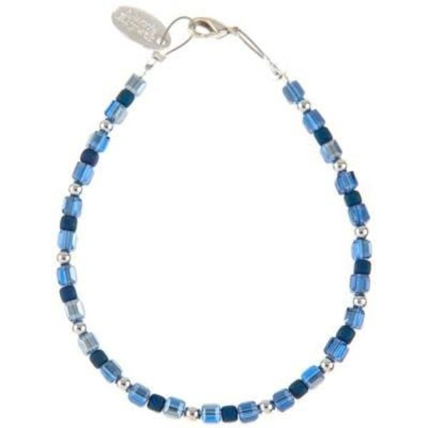 Necklace Glamour - Ocean Blues / Silver