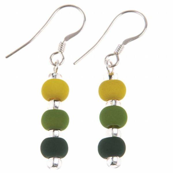 Earrings Carnival - Green