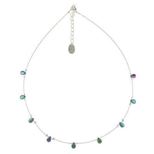 Necklace Teardrop - Petrol