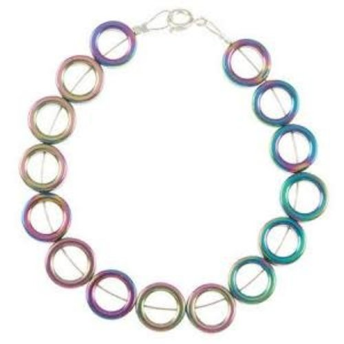 Carrie Elspeth Spectrum Circles Volles Armband