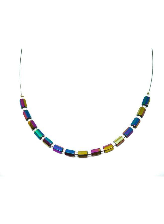 Halsketten-Ausstrahlung - Spektrum