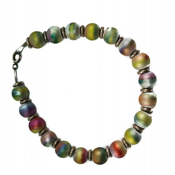 Armband Metalic Balls voll -