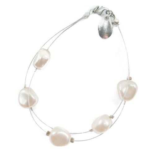 Carrie Elspeth Armband Perle Doppelstrang -