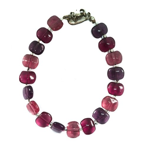 Carrie Elspeth Pulsera Spangle Ruby -