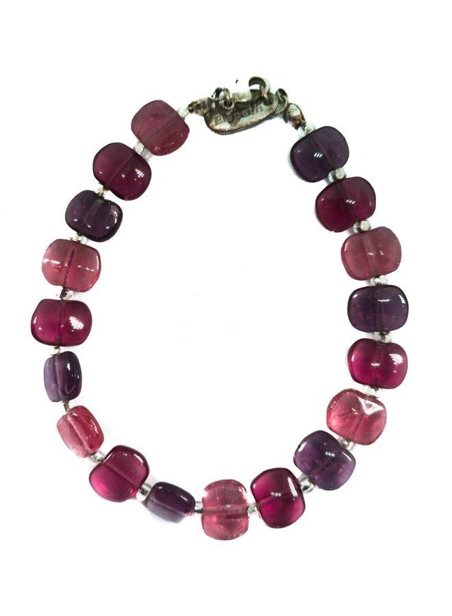 Armband Spangle Ruby -