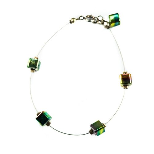 Carrie Elspeth Bracelet cube Spaced - Spectrum