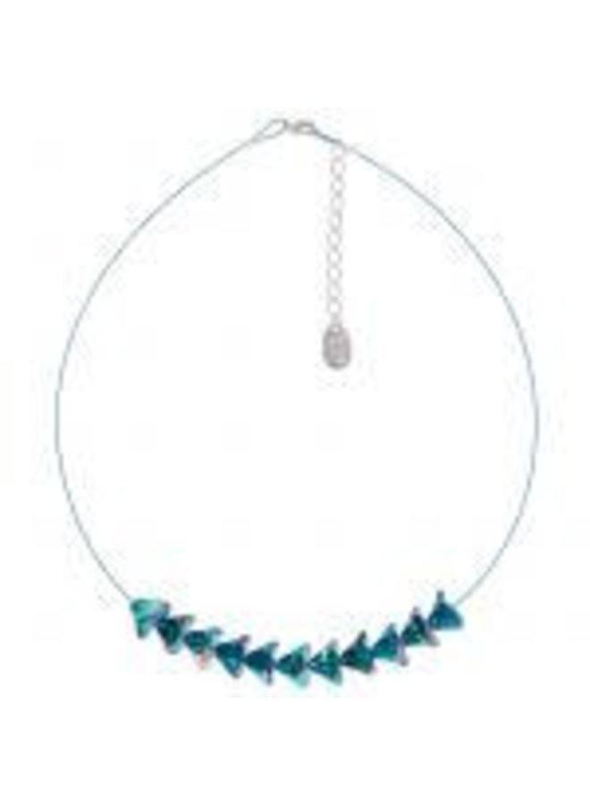 Strauß Pfau Halskette