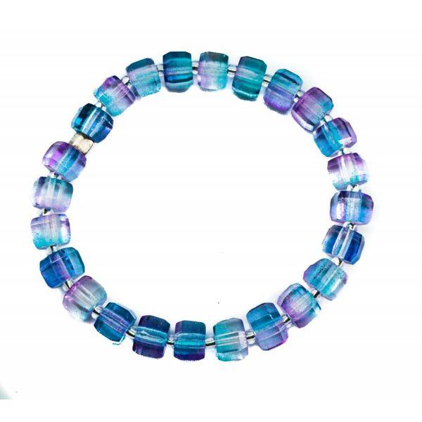 Bracelet Glass Lilac -