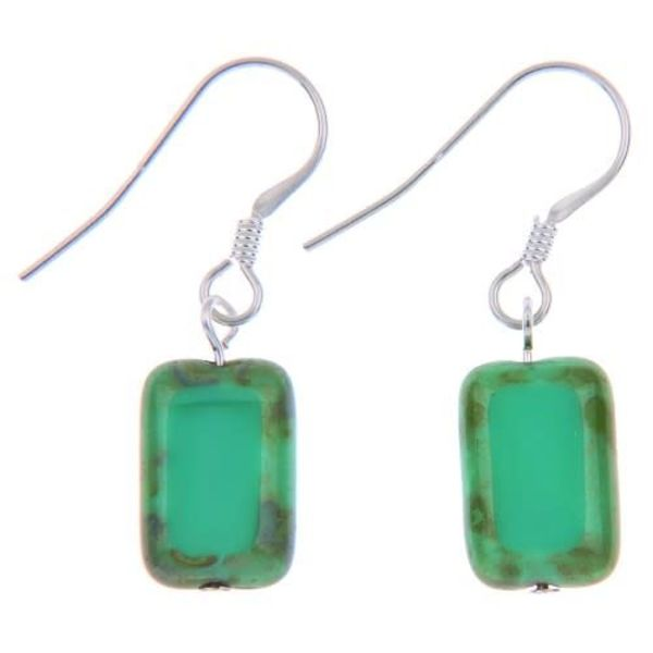 Earrings Picasso - Turquoise