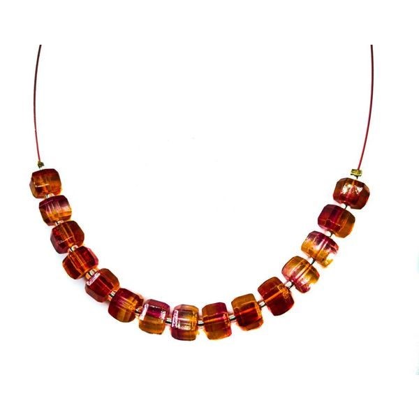 Necklace Autumn Leaves links -