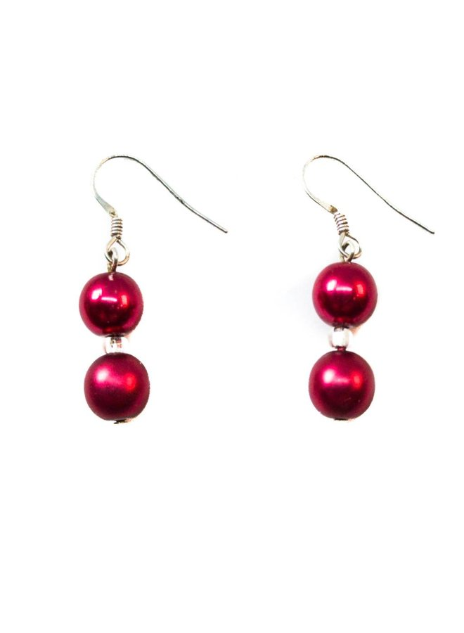 Ohrring Berry Double -
