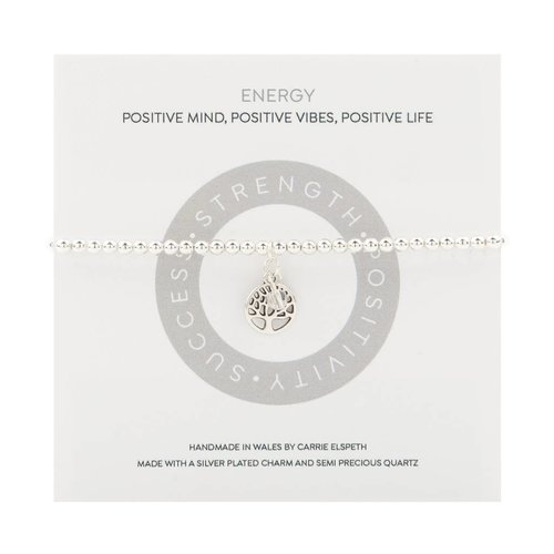 Carrie Elspeth Pulsera Energy Mantra