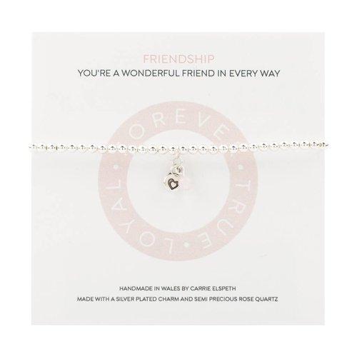 Carrie Elspeth Friendship Mantra Bracelet