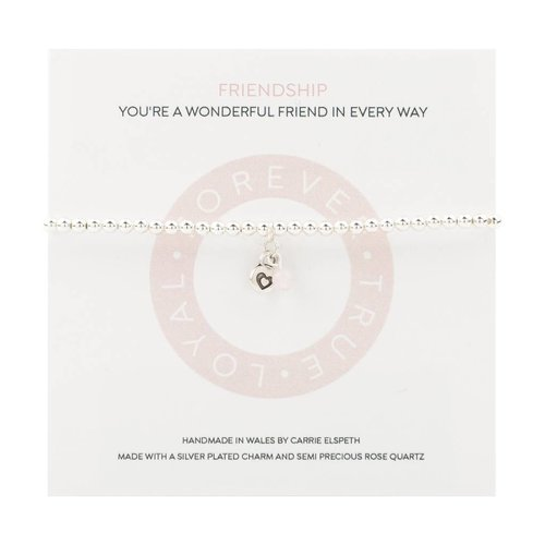 Carrie Elspeth Pulsera Mantra Amistad