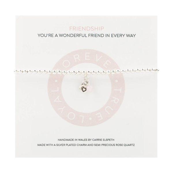 Friendship Mantra Bracelet