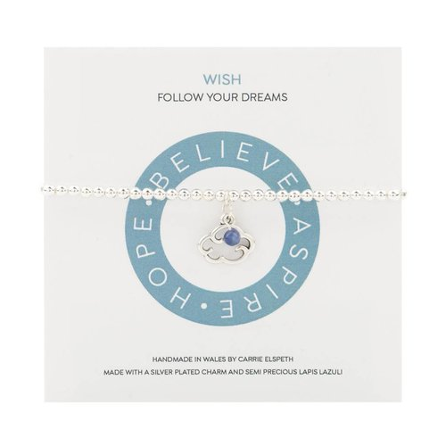 Carrie Elspeth Pulsera Wish Mantra