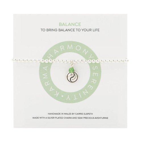 Carrie Elspeth Balance Mantra Bracelet