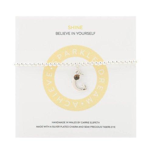 Carrie Elspeth Shine Mantra Bracelet