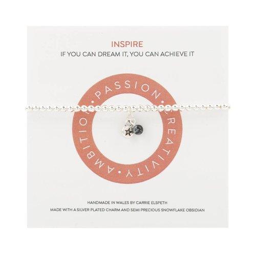 Carrie Elspeth Inspire Mantra Bracelet