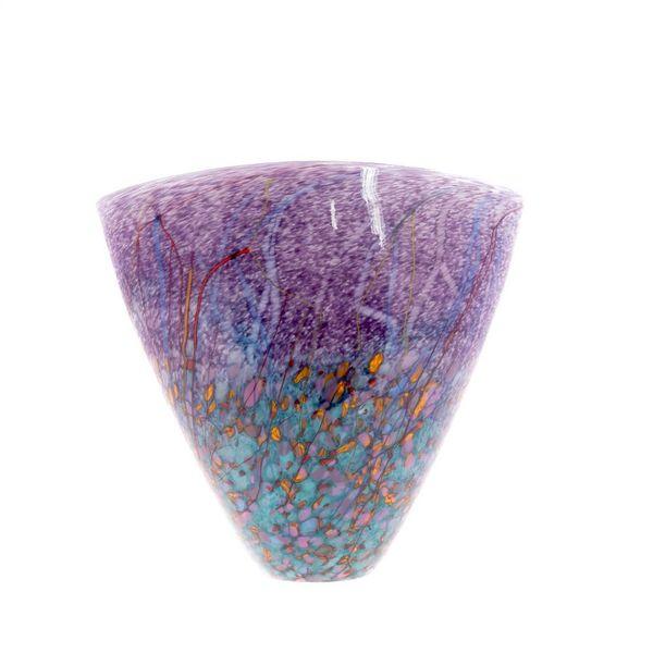 Forma de V prado púrpura